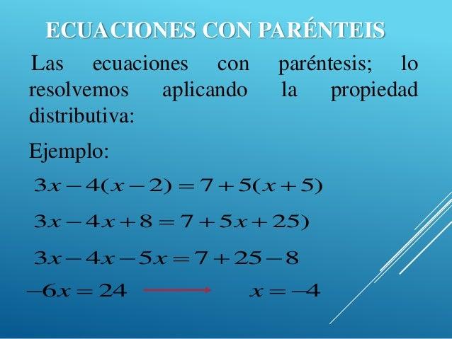 Ecuaciones Lineales Concepto Ejercicios Y Problemas