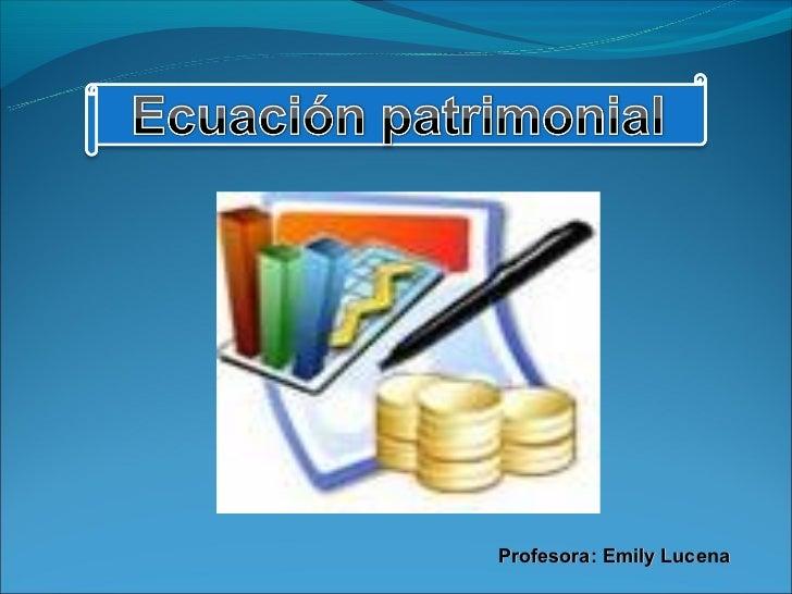 Profesora: Emily Lucena