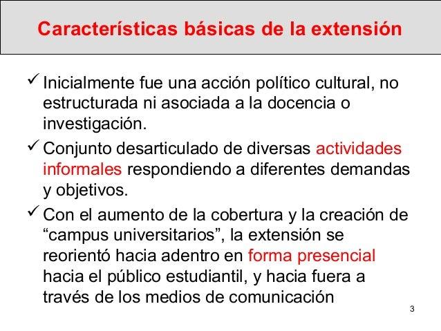 La nueva extensión social de las universidades Slide 3