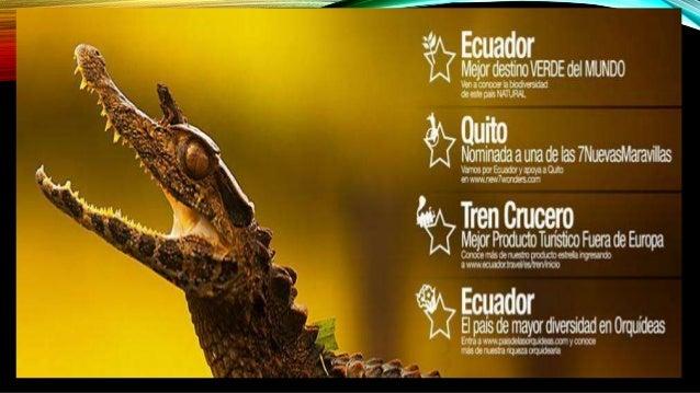 Ecuador mejor destino turístico Slide 3