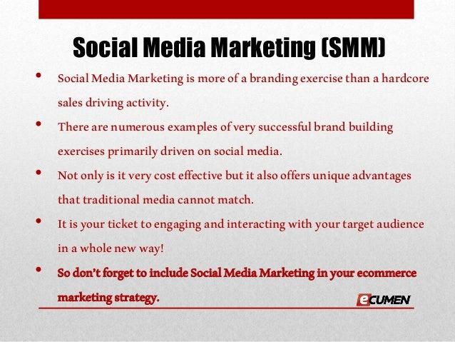 Ecumen's result-oriented social media marketing services Slide 2