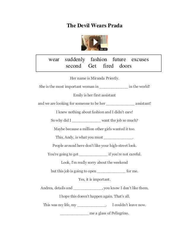 EnglishCentral worksheets