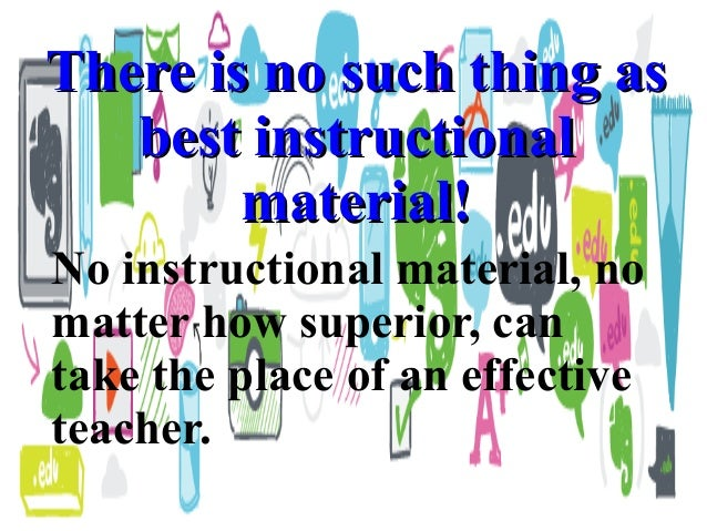 Ed Tech I Lesson 6using And Evaluating Instructional Materials