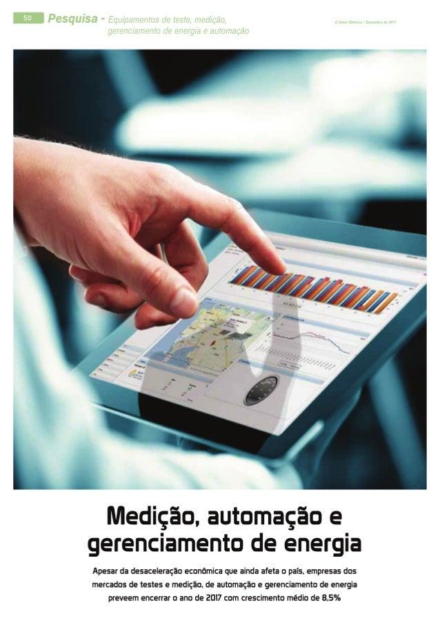 Pesquisa - Medição, automação e gerenciamento de energia