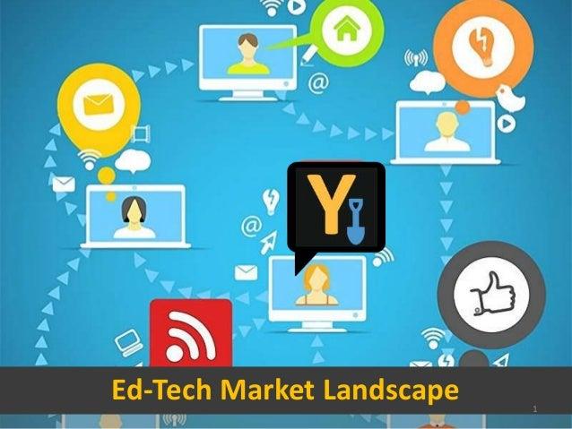 Ed-Tech Market Landscape 1