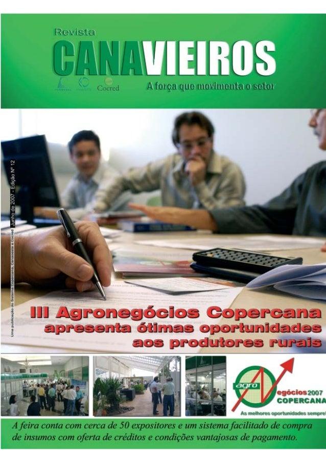 Revista Canavieiros - Junho de 2007