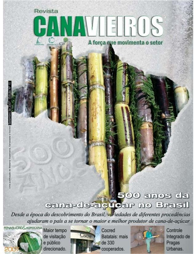 Revista Canavieiros - Setembro de 2007