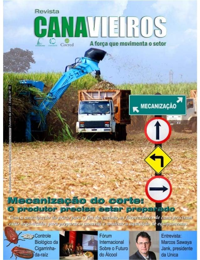 Revista Canavieiros - Outubro de 2007