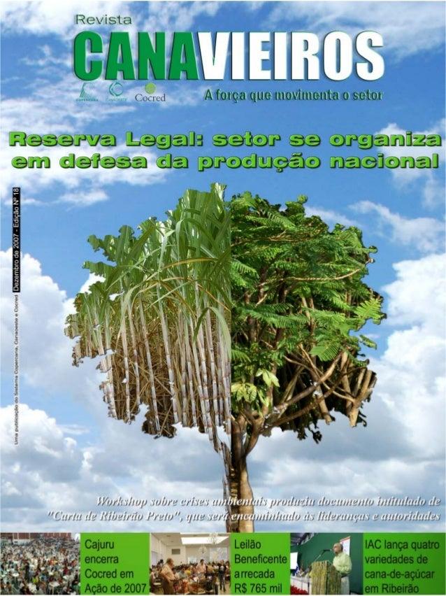 Revista Canavieiros - Dezembro de 2007  1