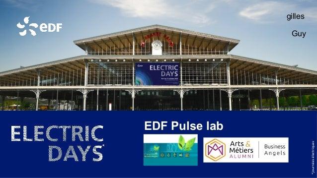 *journéesélectriques EDF Pulse lab gilles Guy
