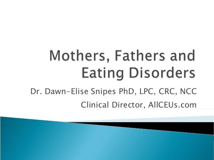 Dr. Dawn-Elise Snipes PhD, LPC, CRC, NCC Clinical Director, AllCEUs.com