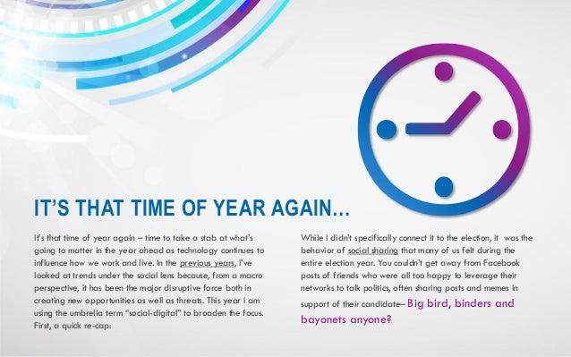 Six Social-Digital Trends for 2013 Slide 2