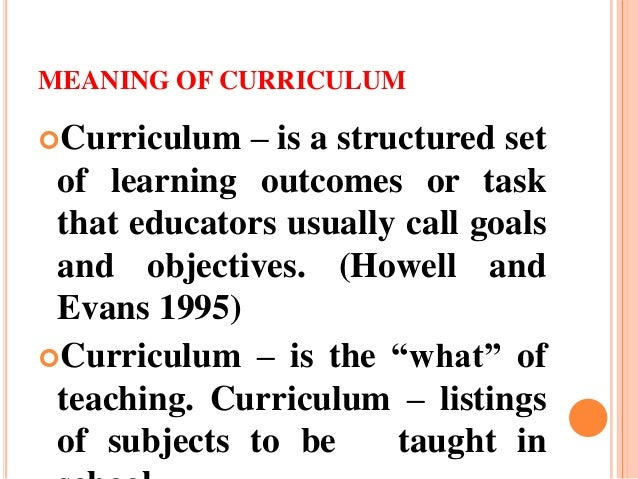 significance of curriculum Of writings that have influenced curriculum theory or practice since 1906  while  a number of additional significant publications were suggested by the cur.