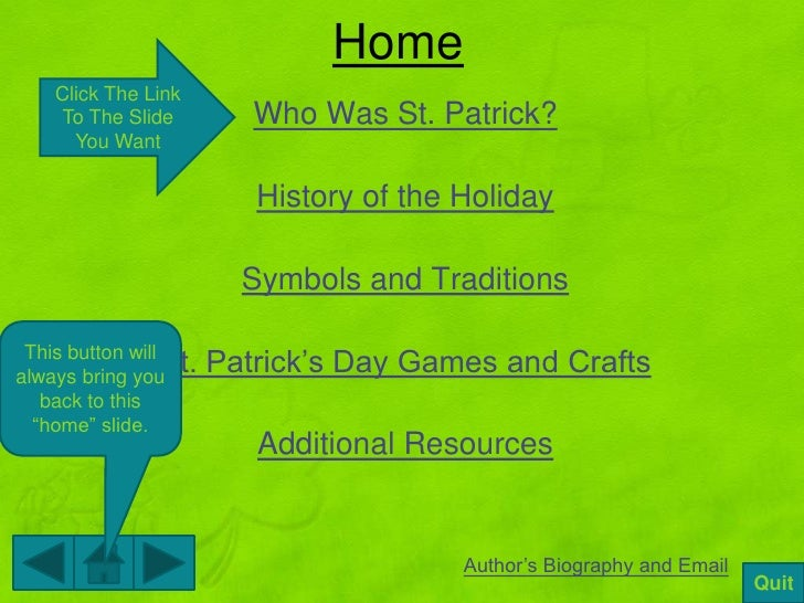st. patrick's day ppt for ed 205 (grand valley state university), Powerpoint templates