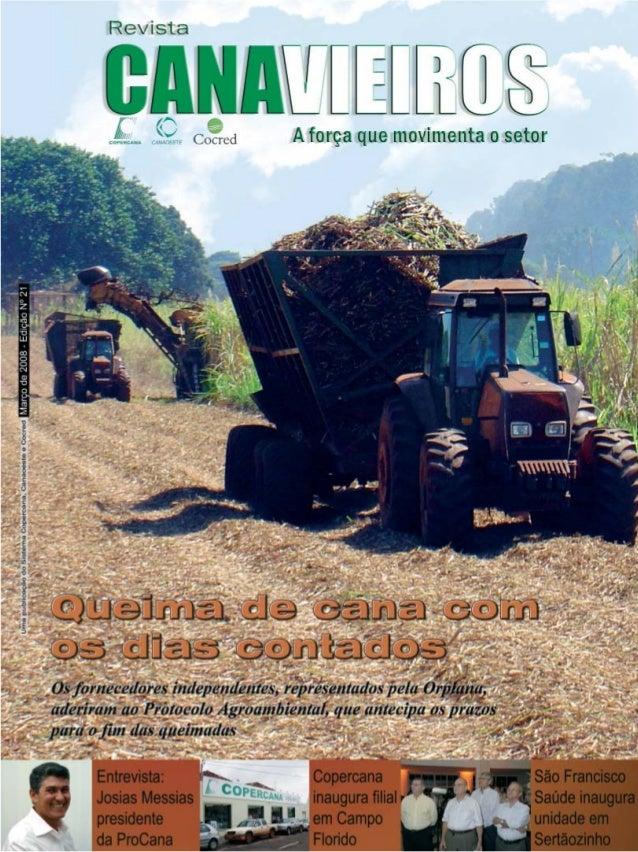 Revista Canavieiros - Março de 2008  1