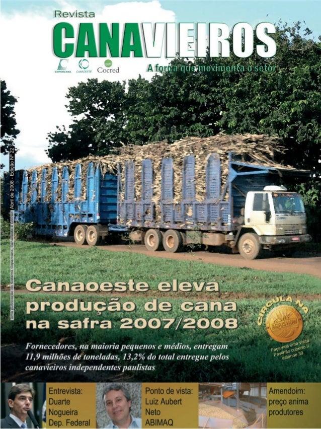 Revista Canavieiros - Abril de 2008  1