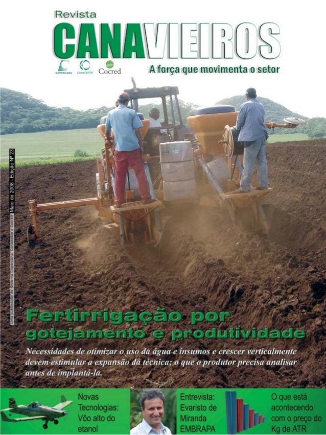 Revista Canavieiros - Maio de 2008  1