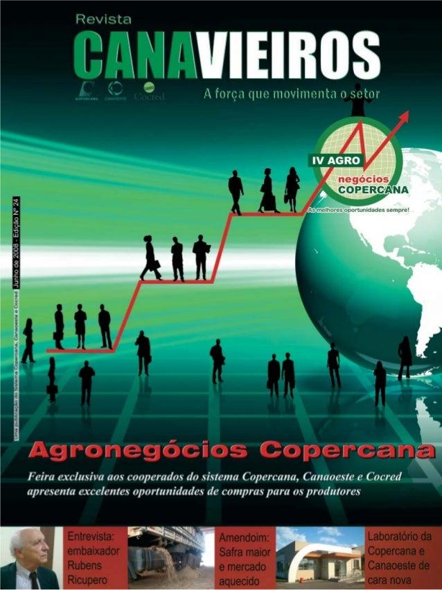 Revista Canavieiros - Junho de 2008  1