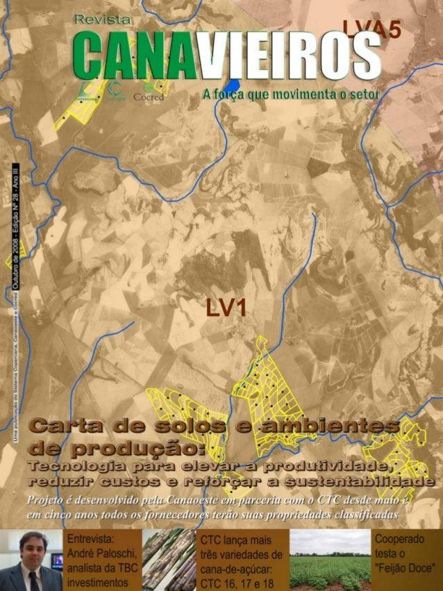Revista Canavieiros - Outubro de 2008  1