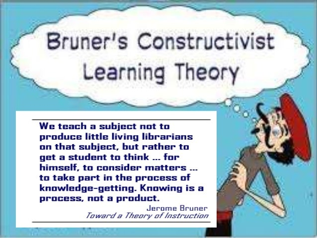 bruners constructivist theory Bruner's constructivist theory suggests it is effective when faced with new material to follow a bruner, j s (1966) toward a theory of instruction.