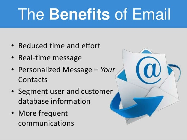 Benefits of Email Marketing in 2015 - Bizzy.io