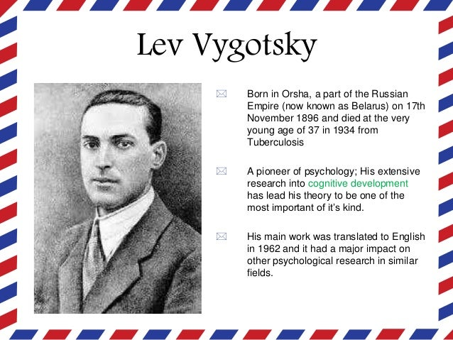 lev vygotsky theory cognitive development pdf