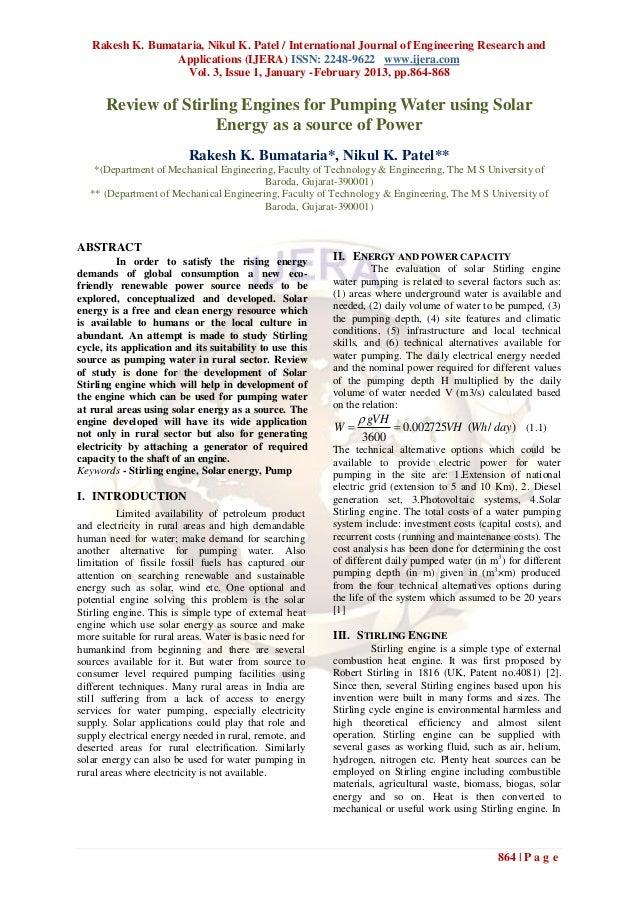 Rakesh K. Bumataria, Nikul K. Patel / International Journal of Engineering Research and                 Applications (IJER...