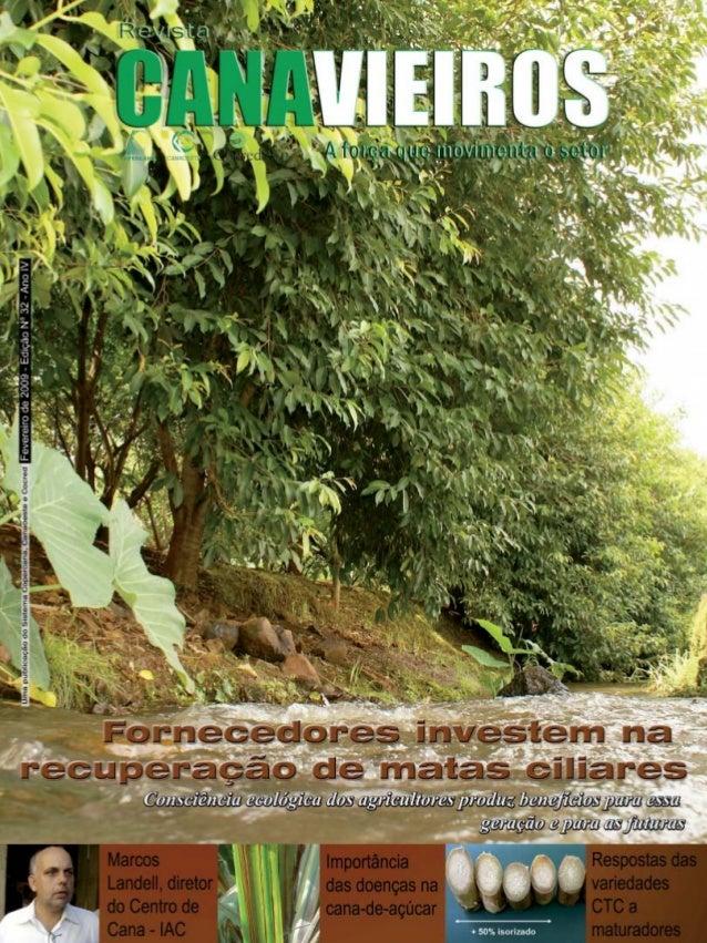 Revista Canavieiros - Fevereiro de 2009  1