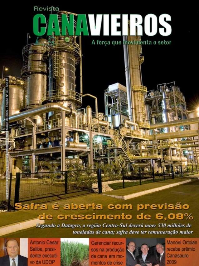 Revista Canavieiros - Março de 2009  1