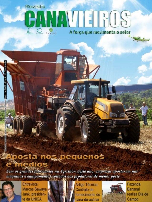 Revista Canavieiros - Maio de 2009  1