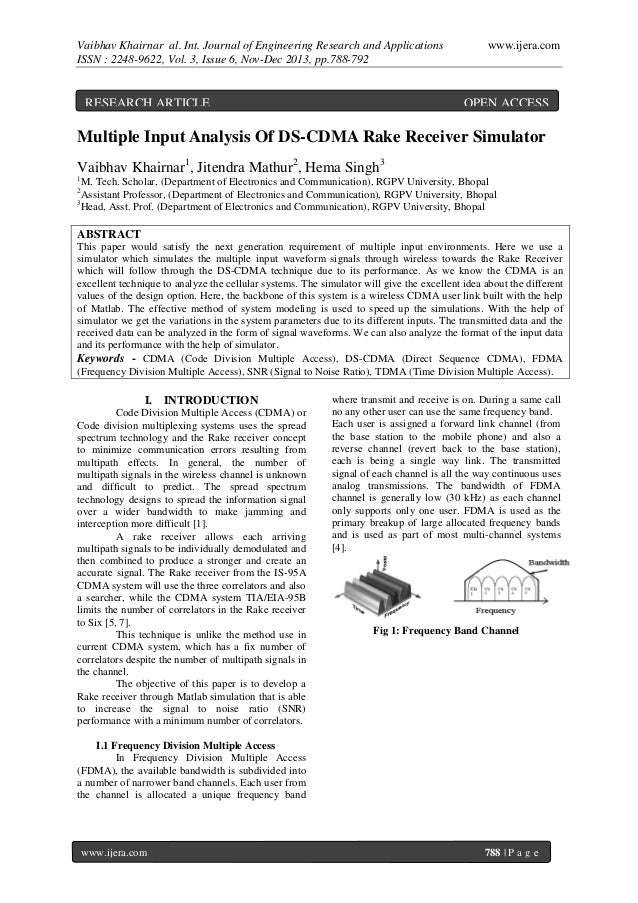 Vaibhav Khairnar al. Int. Journal of Engineering Research and Applications ISSN : 2248-9622, Vol. 3, Issue 6, Nov-Dec 2013...