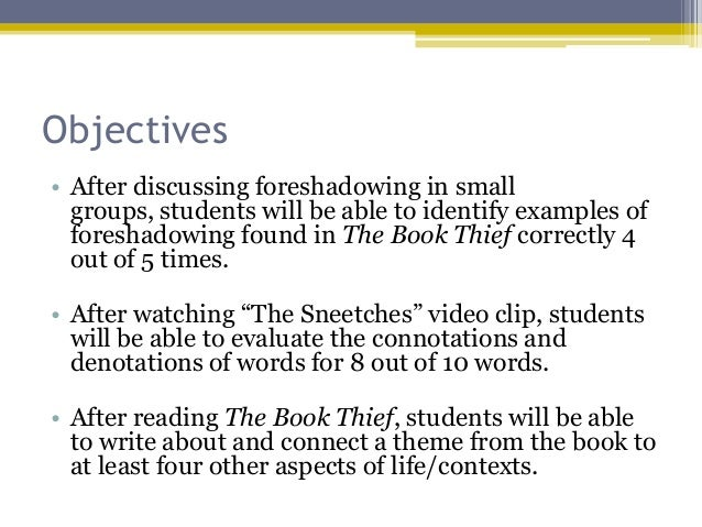 overview of the book thief Brief summary of the book the book thief, by markus zusak.