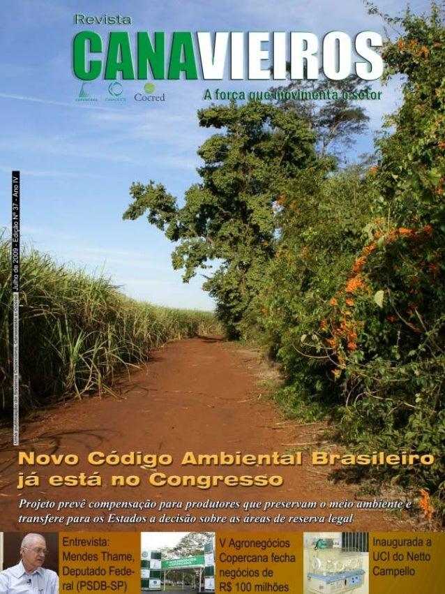 Revista Canavieiros - Julho de 2009  1