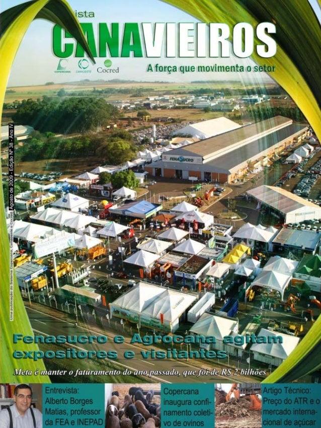 Revista Canavieiros - Agosto de 2009  1