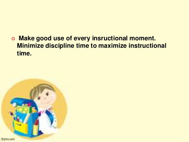 Ed 3 Unit 4 Chapter 1 Guiding Principles In Classroom Management