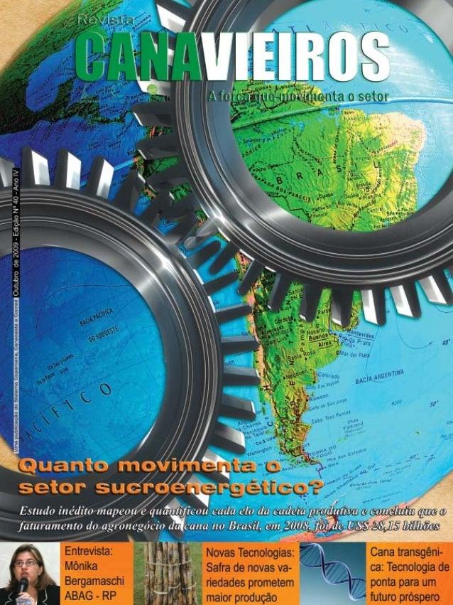 Revista Canavieiros - Outubro de 2009  1