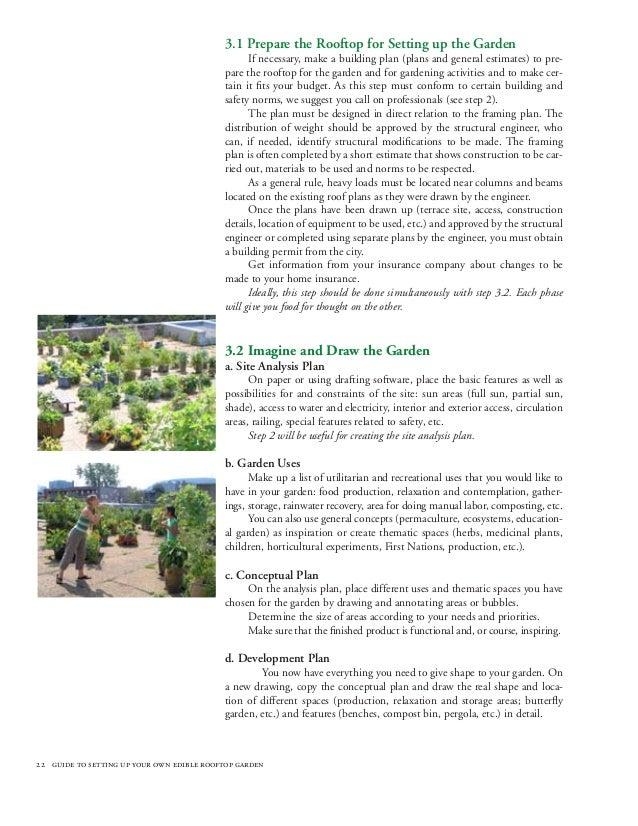 22 Designing The Garden 23 Conceptual Plan