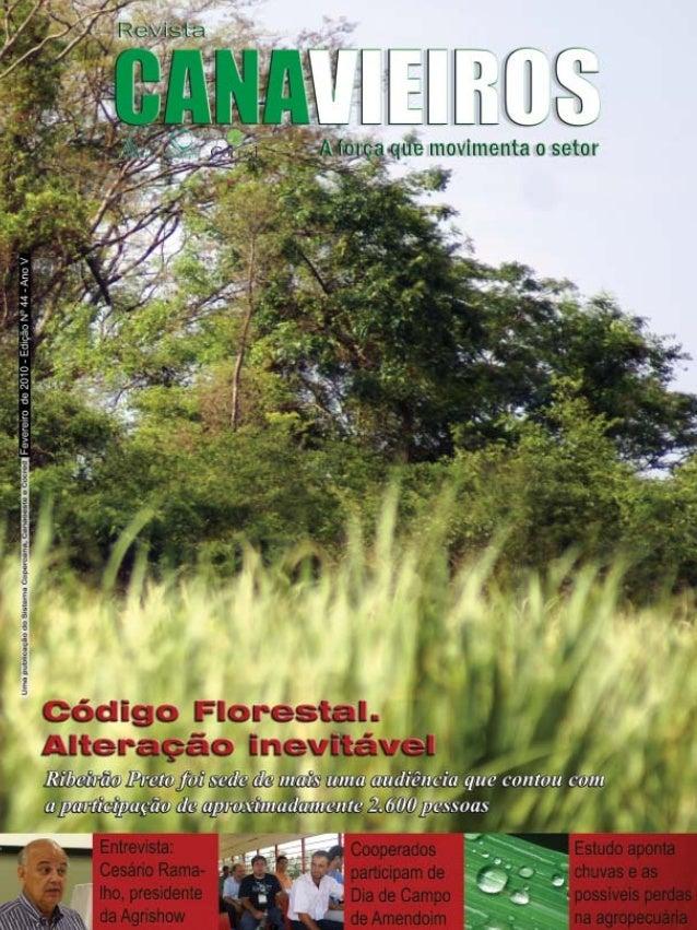 Revista Canavieiros - Fevereiro de 2010  1