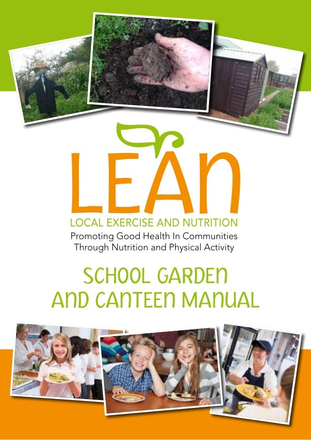 school garden and canteen manual