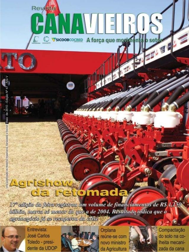 Revista Canavieiros - Maio de 2010  1