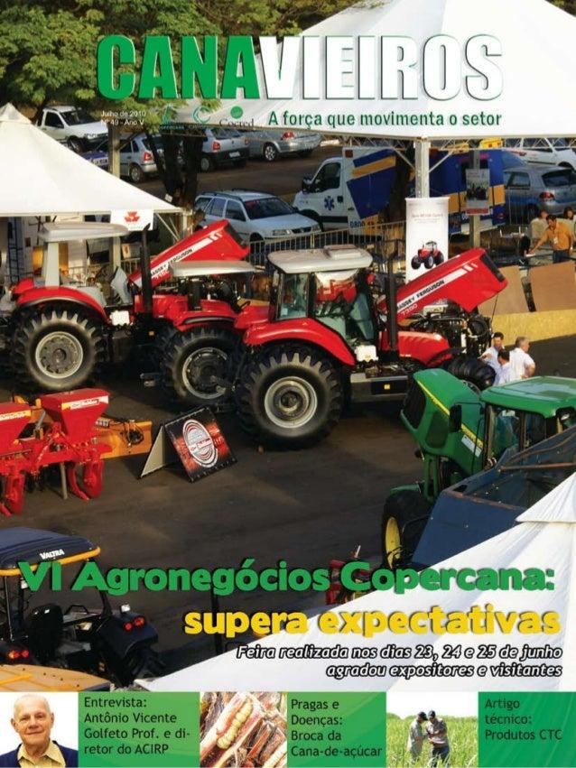 1  Revista Canavieiros - Julho de 2010