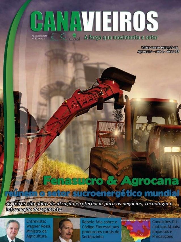 1  Revista Canavieiros - Agosto de 2010