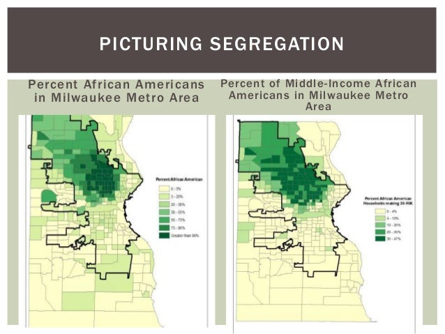 a study on black segregation During the 1940s, psychologists kenneth bancroft clark and his wife, mamie phipps clark designed a test to study the psychological effects of.
