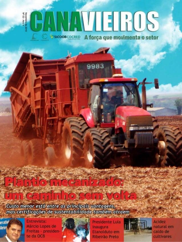 1  Revista Canavieiros - Novembro de 2010