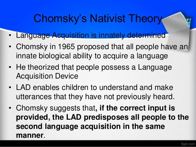 linguistics and chomsky s theory Visit mit linguistics to view noam chomsky's profile mit linguistics and philosophy 77 massachusetts avenue, 32-d808 cambridge, ma 02139, usa.