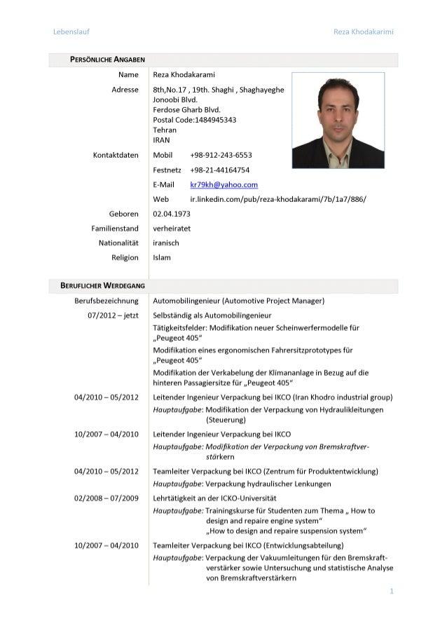 CV_Deutsch