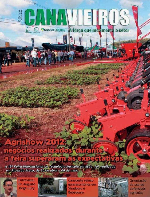 1  Revista Canavieiros - Maio 2012