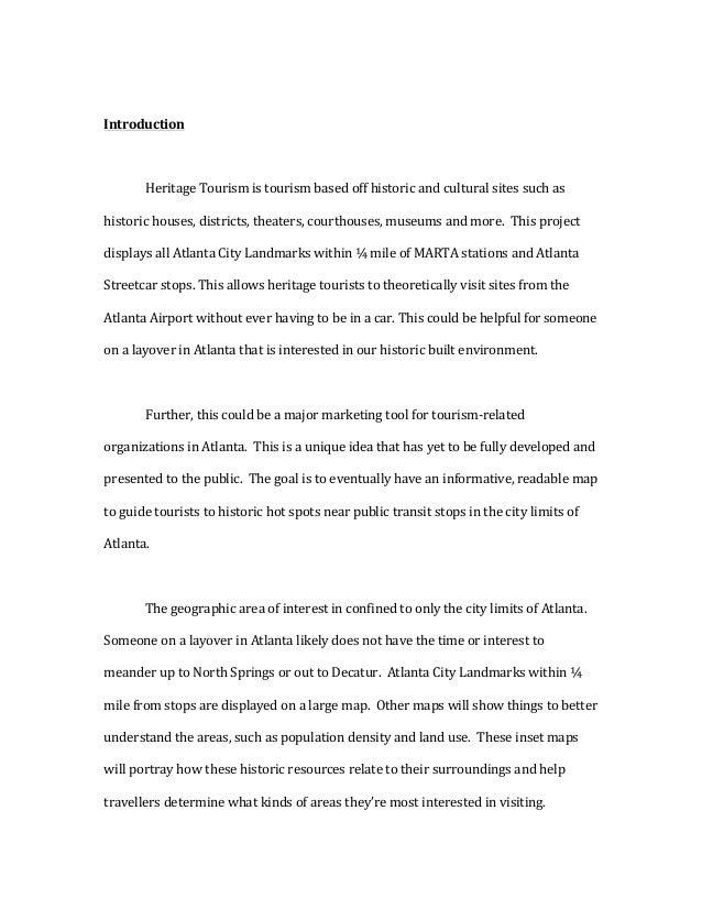 Introduction  HeritageTourismistourismbasedoffhistoricandculturalsitessuchas historichouses,districts,the...