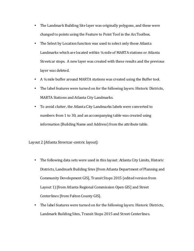 • TheLandmarkBuildingSitelayerwasoriginallypolygons,andthesewere changedtopointsusingtheFeaturetoPointT...