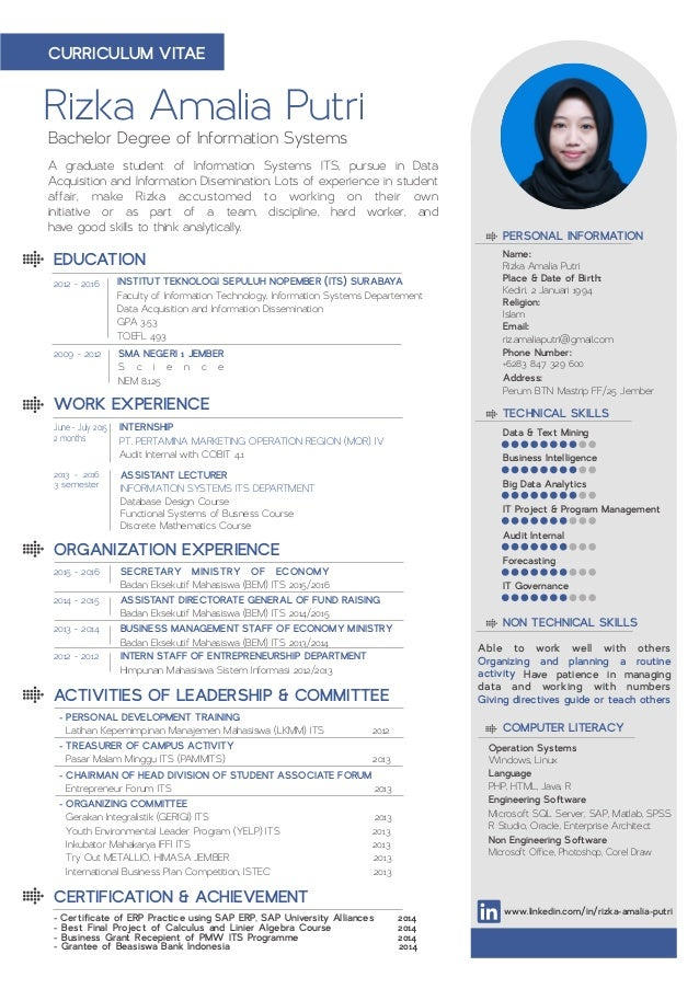 Rizka Amalia Putri A graduate student of Information Systems ITS, pursue in Data Acquisition and Information Disemination....